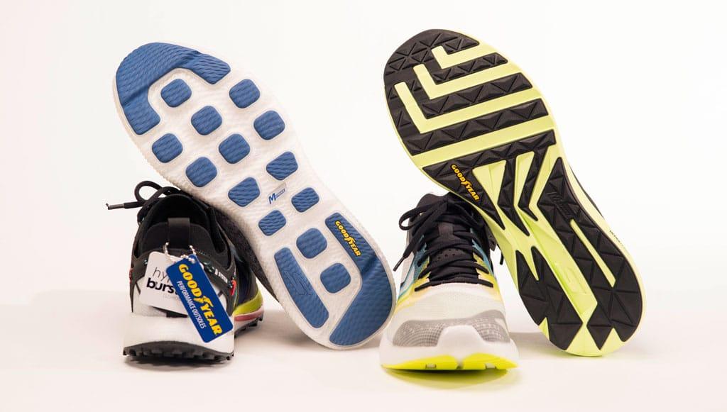 Goodyear colabora com Sketchers em nova linha de calçado