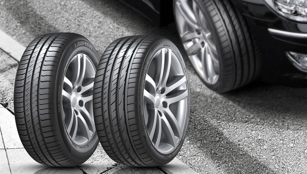 Hankook apresenta novos pneus Laufenn