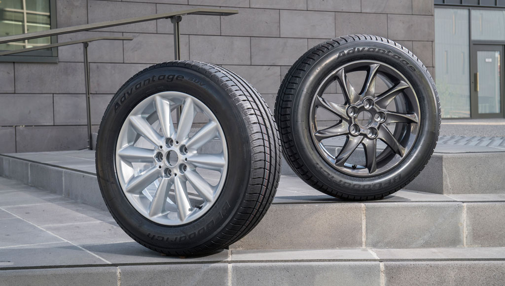 BFGoodrich renova gama de pneus de turismo e SUV