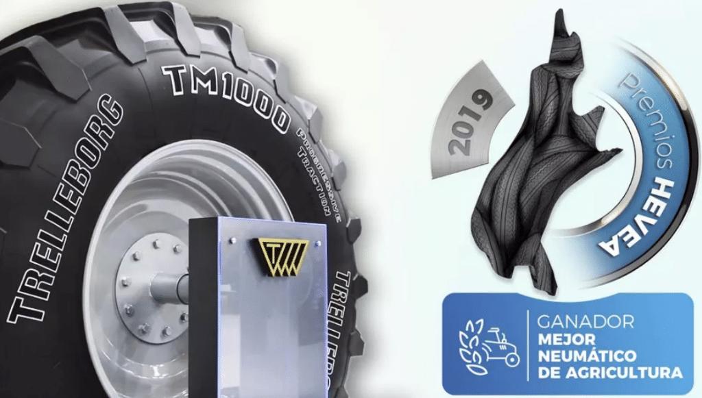 Trelleborg TM1000 ProgressiveTraction está na FIMA 2020