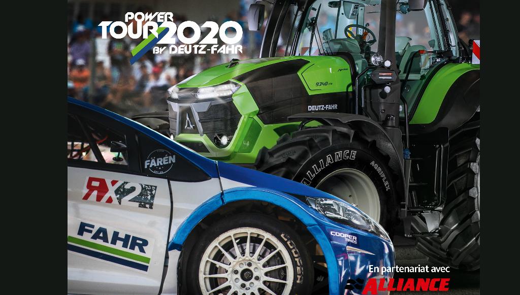 Alliance Tire Group é parceiro oficial do DEUTZ-FAHR Power Tour 2020 em França