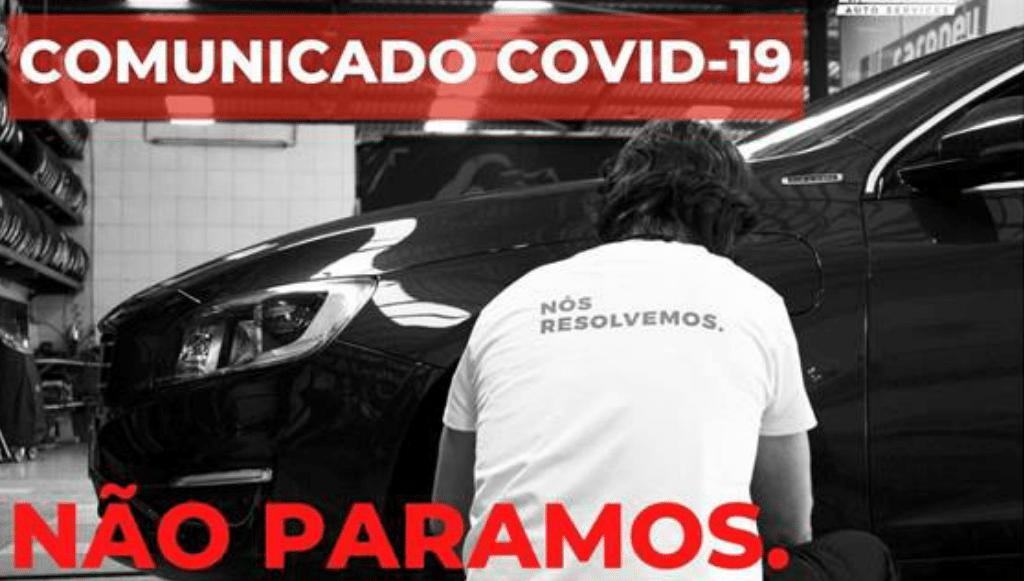 Carpneu Auto Services mantém-se firme na luta contra o Covid-19