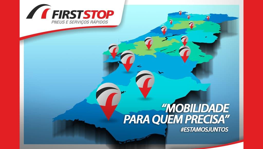 FirstStop garante mobilidade no combate à Covid-19
