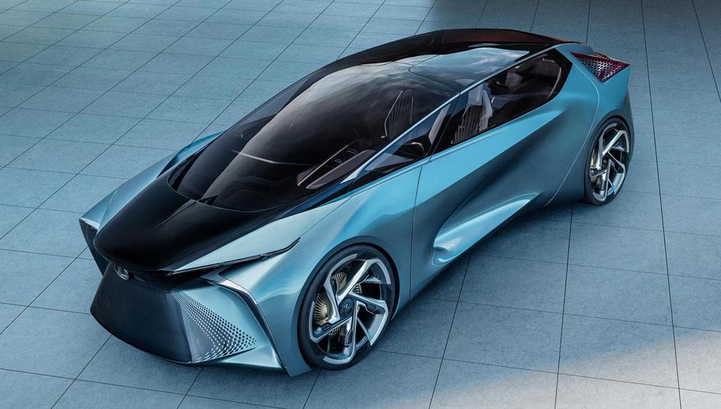 Goodyear desenvolve protótipo em parceria com a Lexus