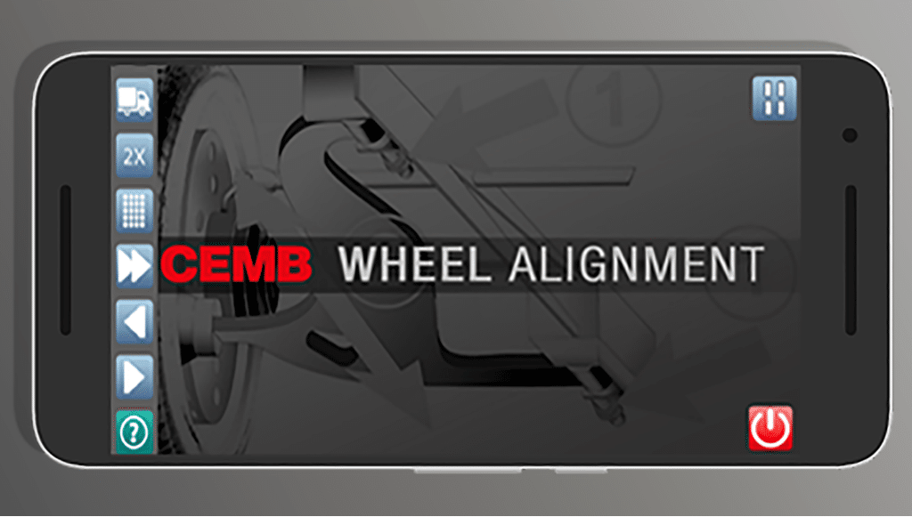 CEMB apresenta nova <em>app</em> para controlo remoto do alinhamento de rodas