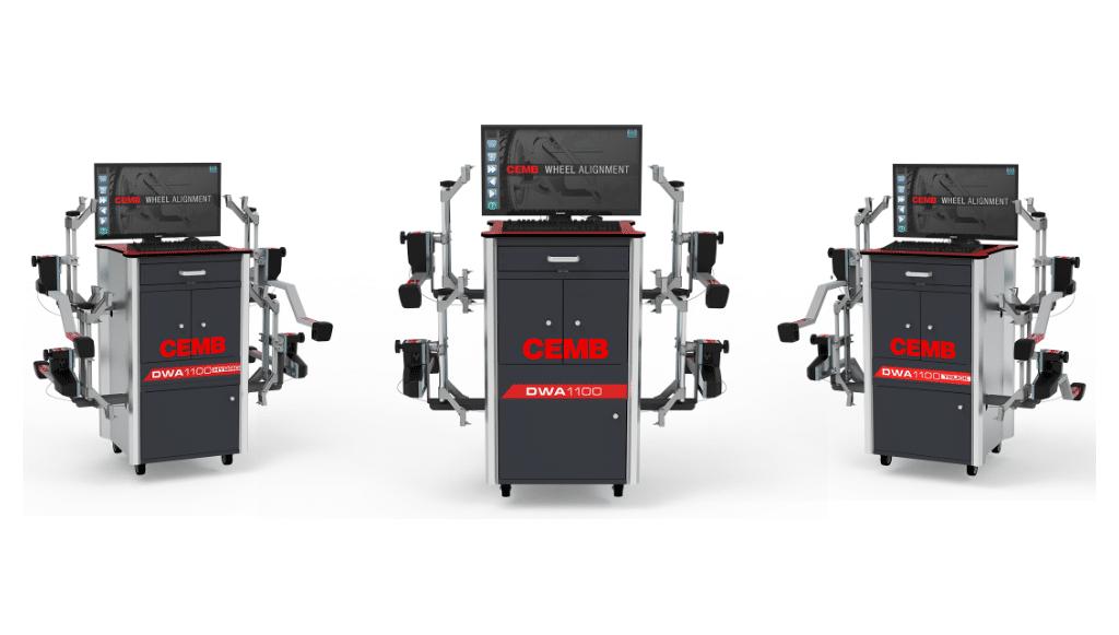 DWA1100: o novo sistema de alinhamento de rodas CCD da CEMB