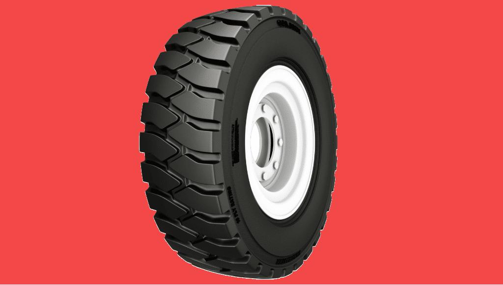 Galaxy amplia gama de pneus Yardmaster para empilhadores