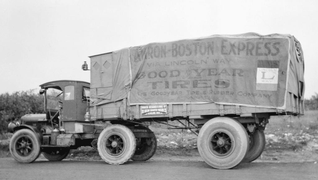 Goodyear Wingfoot Express: o camião que mudou o transporte pesado de mercadorias