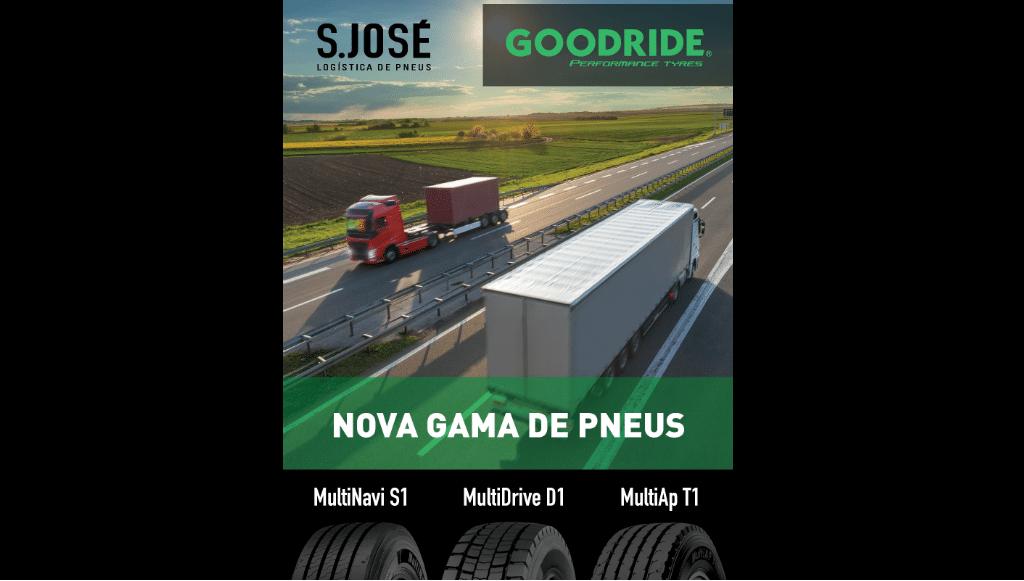 Goodride lança nova gama de pneus pesados