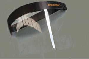 Continental oferece viseiras de proteção individual aos parceiros de negócio