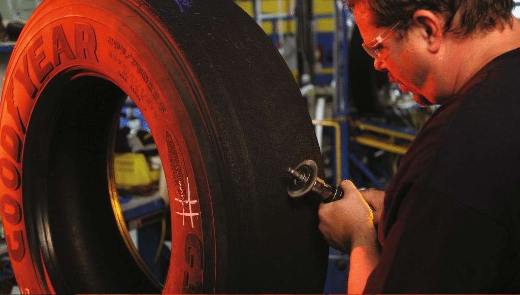 Goodyear desvenda os sete passos do processo de criação de um pneu