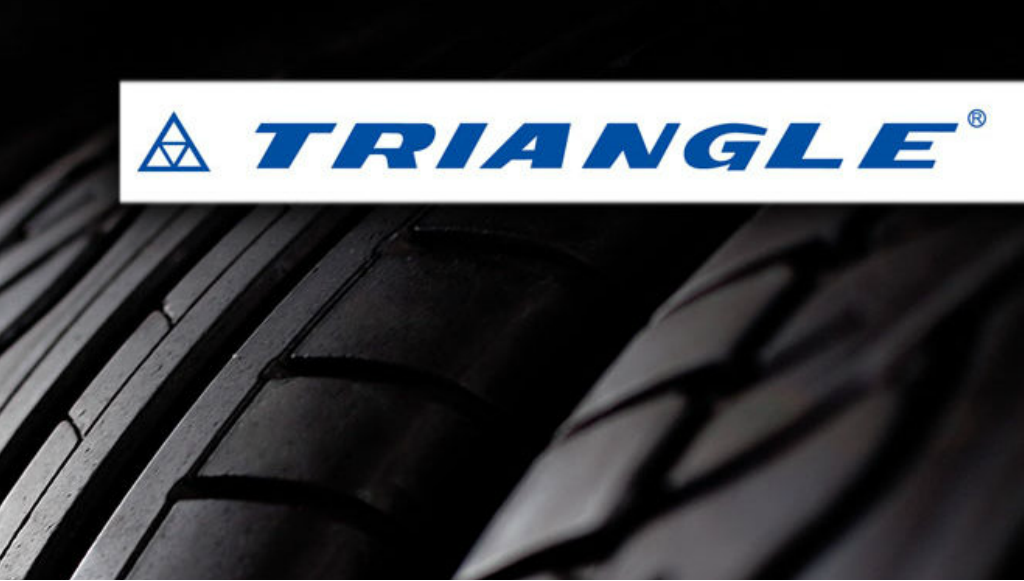 Triangle Tyre está entre as 10 principais marcas de pneus na China