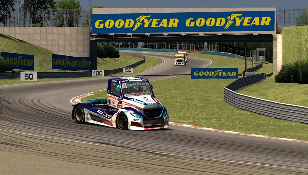 Goodyear e ETRA juntas nas corridas de camiões virtuais