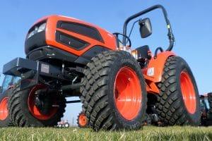 Galaxy apresenta pneus Garden Pro para jardinagem