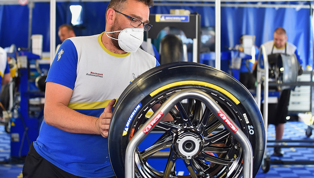 Michelin estreia com êxito novo pneu traseiro para MotoGP