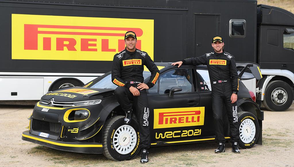 Pirelli inicia programa de testes com pneus do WRC 2021