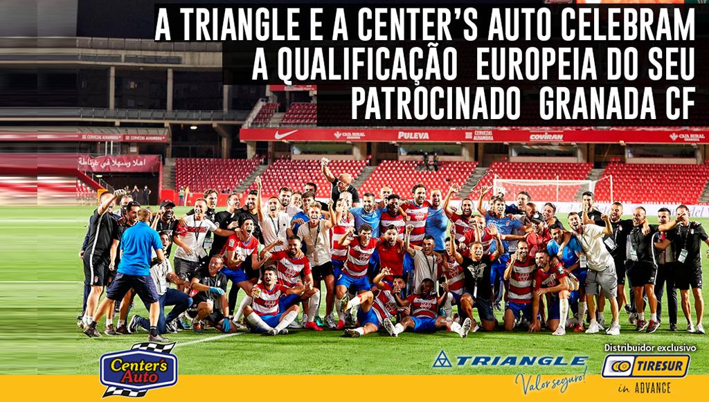 Triangle e Center's Auto patrocinam Granada C.F.
