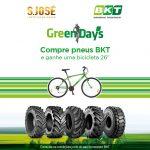 BKT e S. José Pneus juntam-se na oferta de bicicletas
