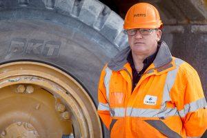 BKT tem pneu ideal para trabalhar numa pedreira
