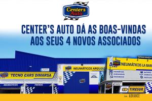 Tiresur adiciona quatro novos associados à rede Center's Auto