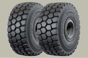 Continental equipa retroescavadoras Liebherr com pneus EM-Master