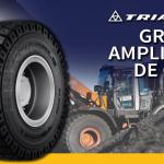 Tiresur reforça oferta OTR da Triangle com 10 novos modelos