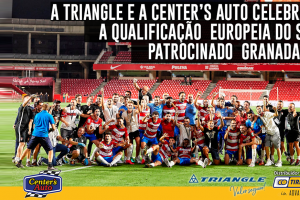 Triangle e Center's Auto patrocinam Granada C.F.
