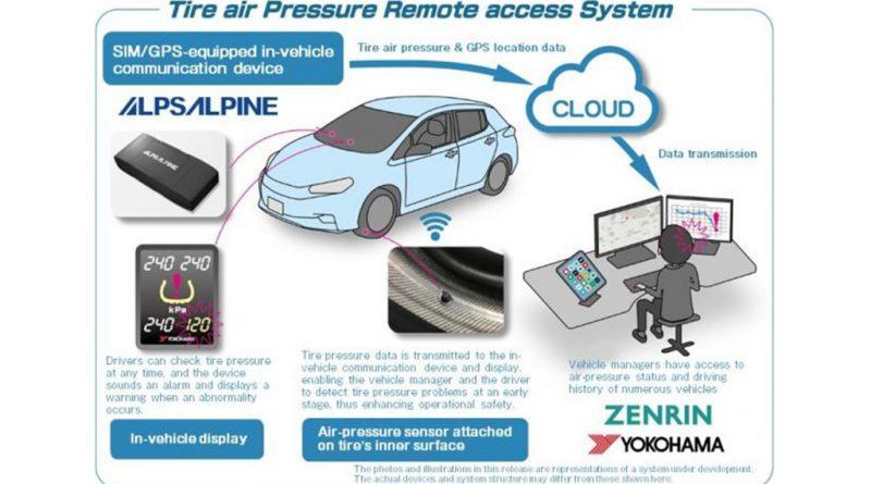 09 - YOKOHAMA-e-Zenrin-iniciam-testes-no-sensor-de-pneus
